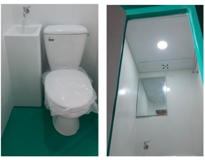Nội thất nhà vệ sinh di động V17.2