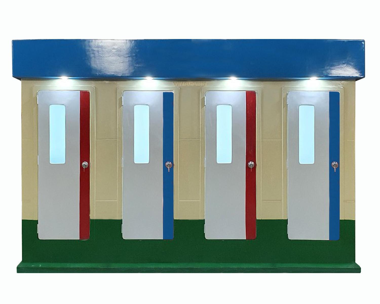 Nhà vệ sinh công cộng Vinacabin V18.4