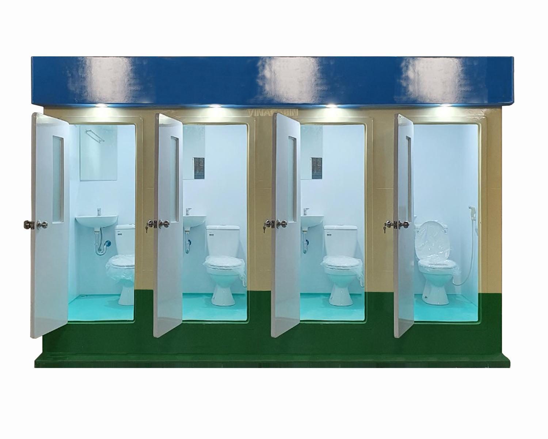 Nội thất nhà vệ sinh công cộng V18.4