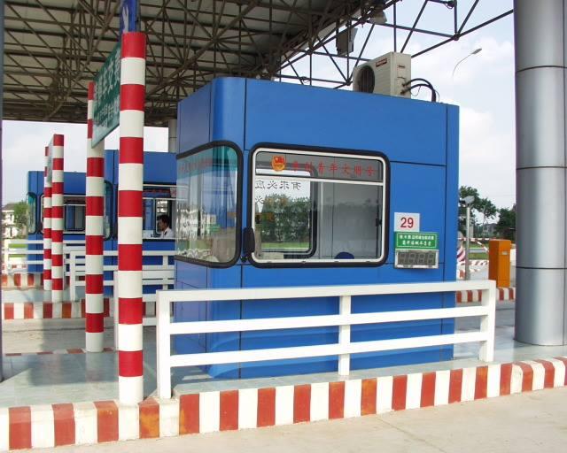 Cabin thu phí sản xuất tại Trung Quốc