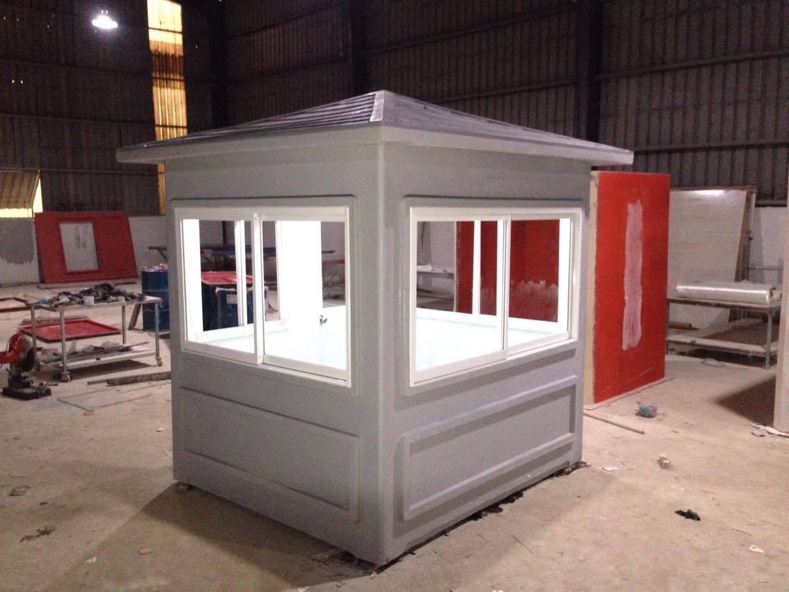 Cabin nhà bảo vệ mái dốc bằng composite