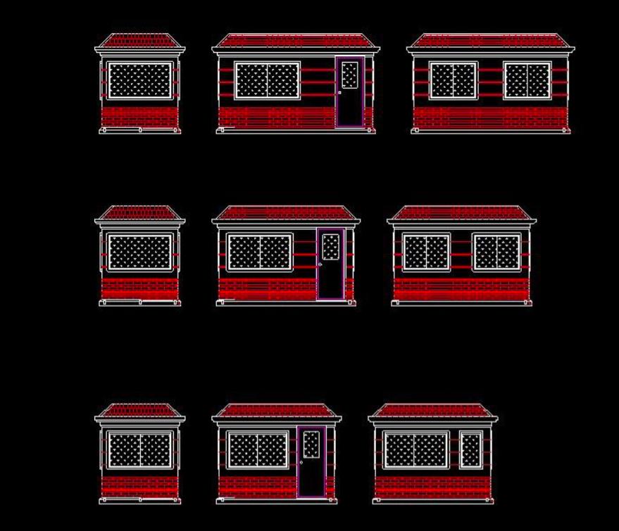 Nhà di động có diện tích từ 4 đến 8m2