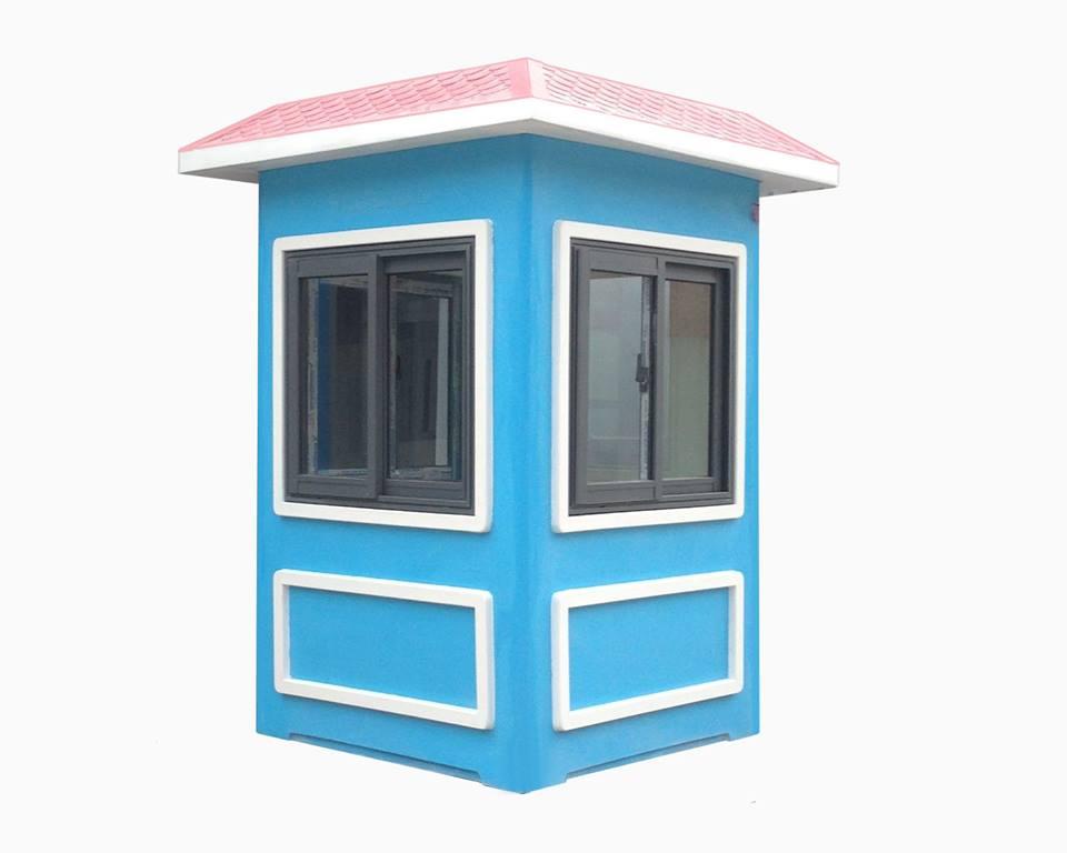 Cabin chốt gác 1.35m composite cửa sổ  nhôm Xingfa hệ 55
