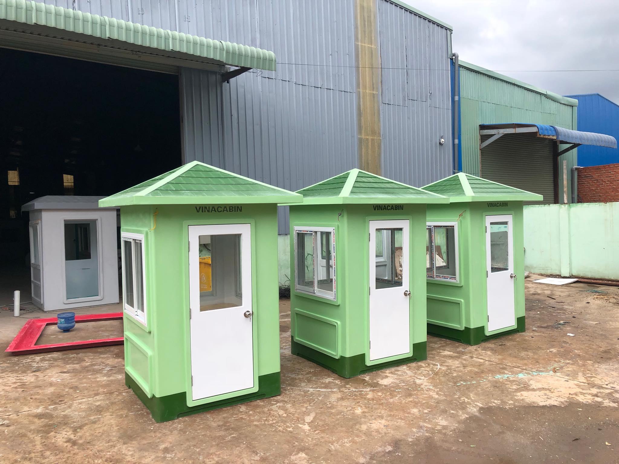 Chế tạo cabin chốt gác chắn đường sắt