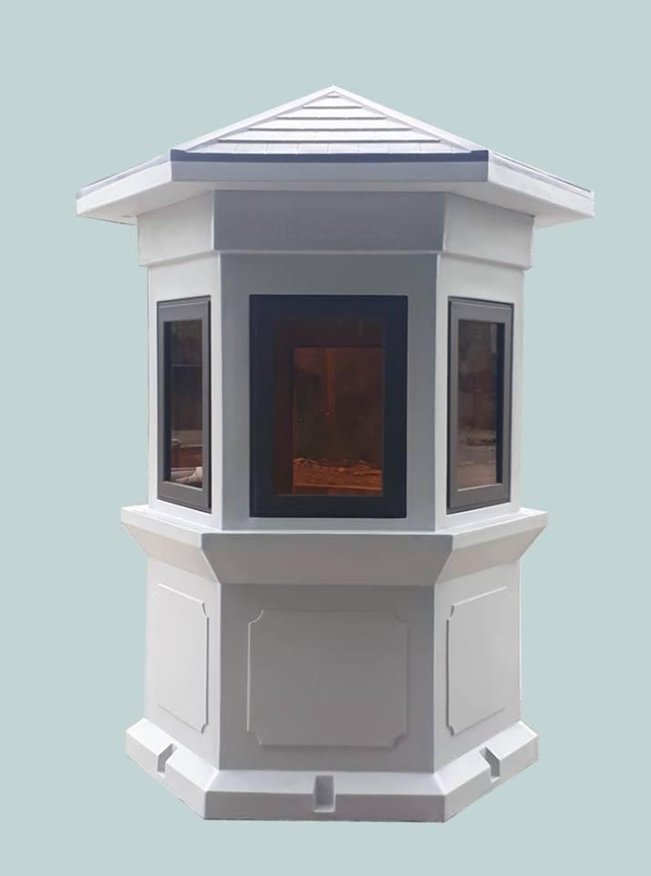 Ngoài chức năng là nhà bảo vệ, sản phẩm của chúng tôi còn là vật trang trí cho các toà nhà và khu du lịch