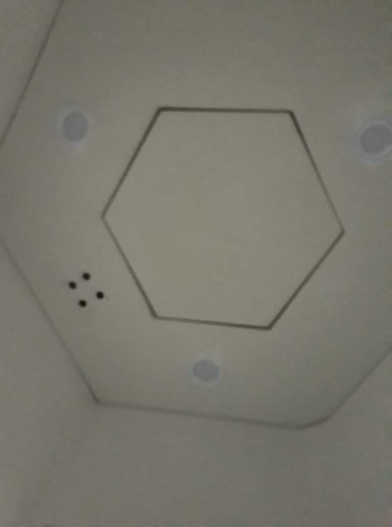 Trần và nội thất chòi bảo vệ lục giác VINACABIN VC6S