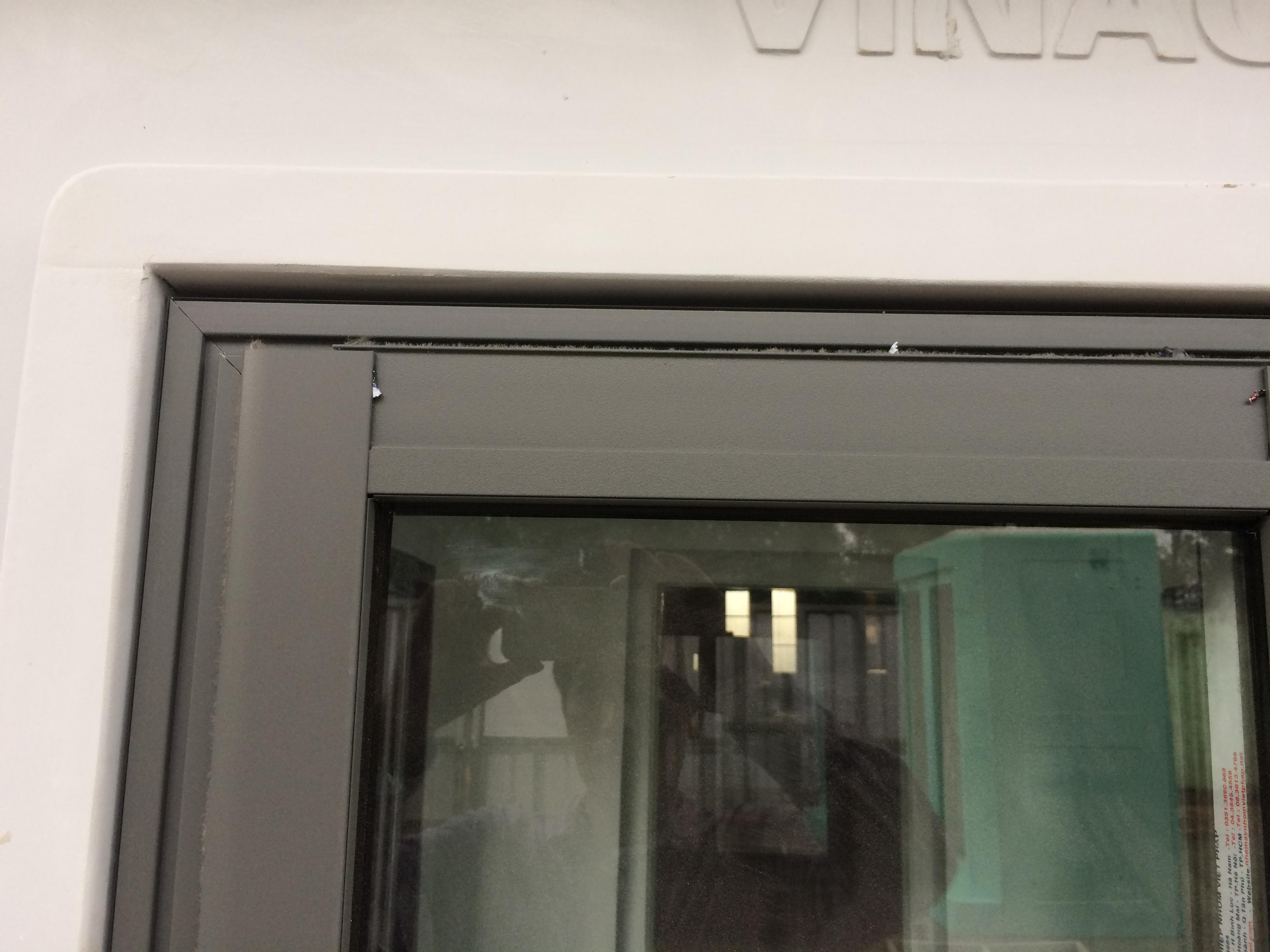 Kết cấu cửa sổ nhà bảo vệ VINACABIN