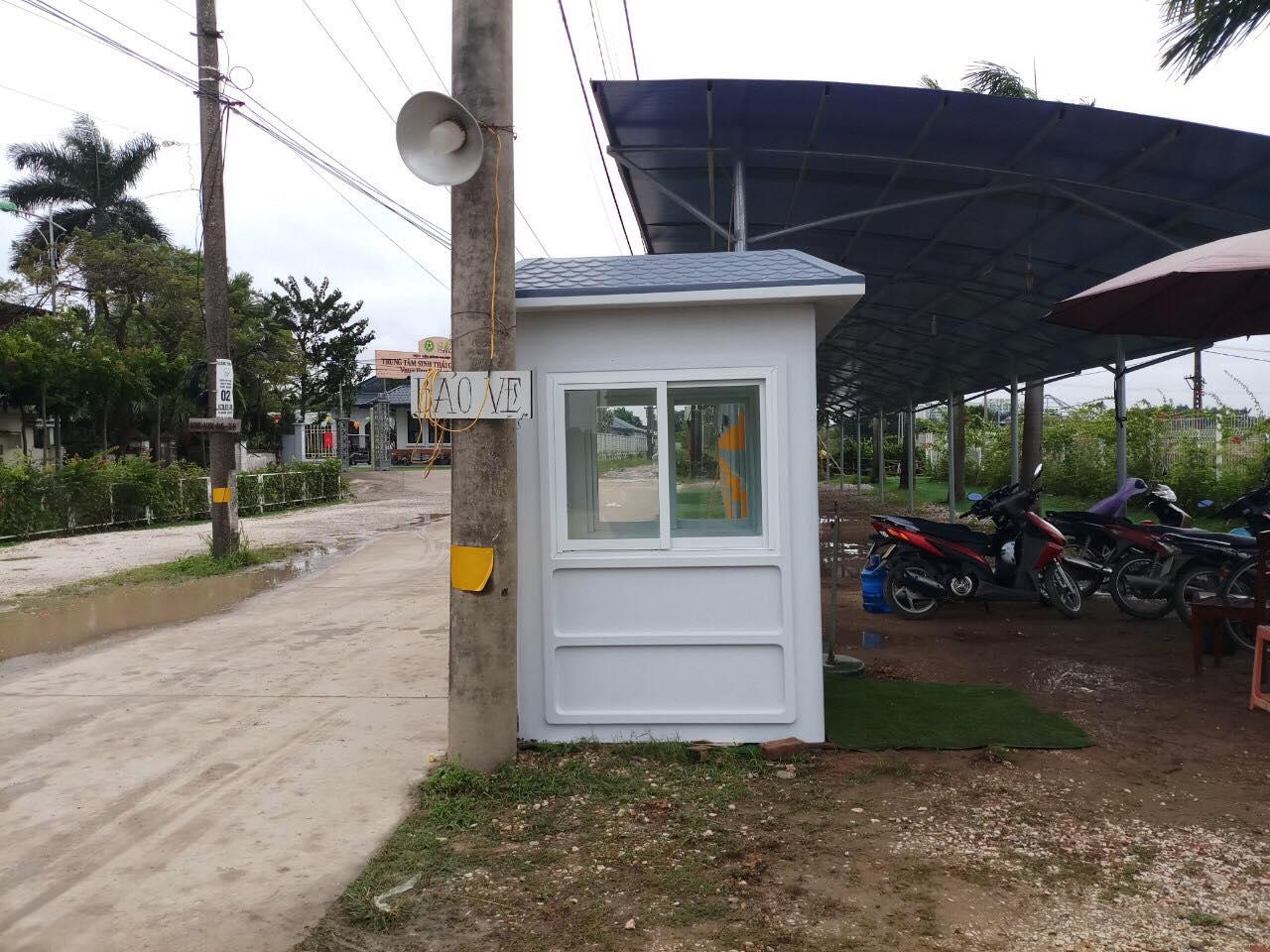 Nhà bảo vệ Vinacabin được lắp tại Đại Học Nông Nghiệp I