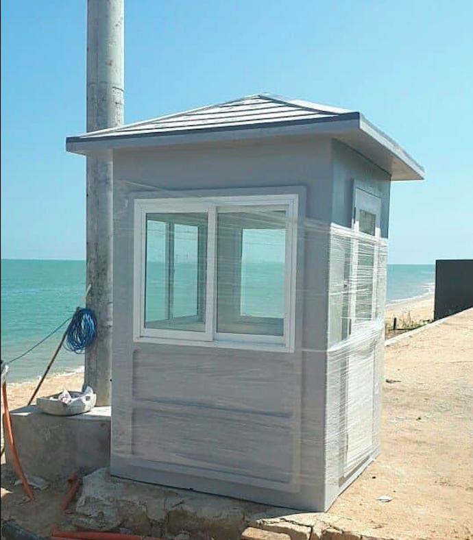 Sản phẩm nhà bảo vệ mái nhọn lô đầu tiên được giao tại Vũng Tàu