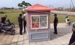 Nhà bảo vệ bằng vật liệu composite được chế tạo hàng loạt