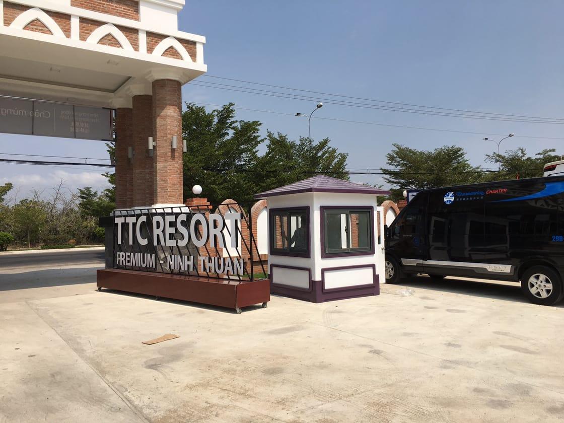 Nhà bảo vệ trang bị cho khu Resort 5 sao