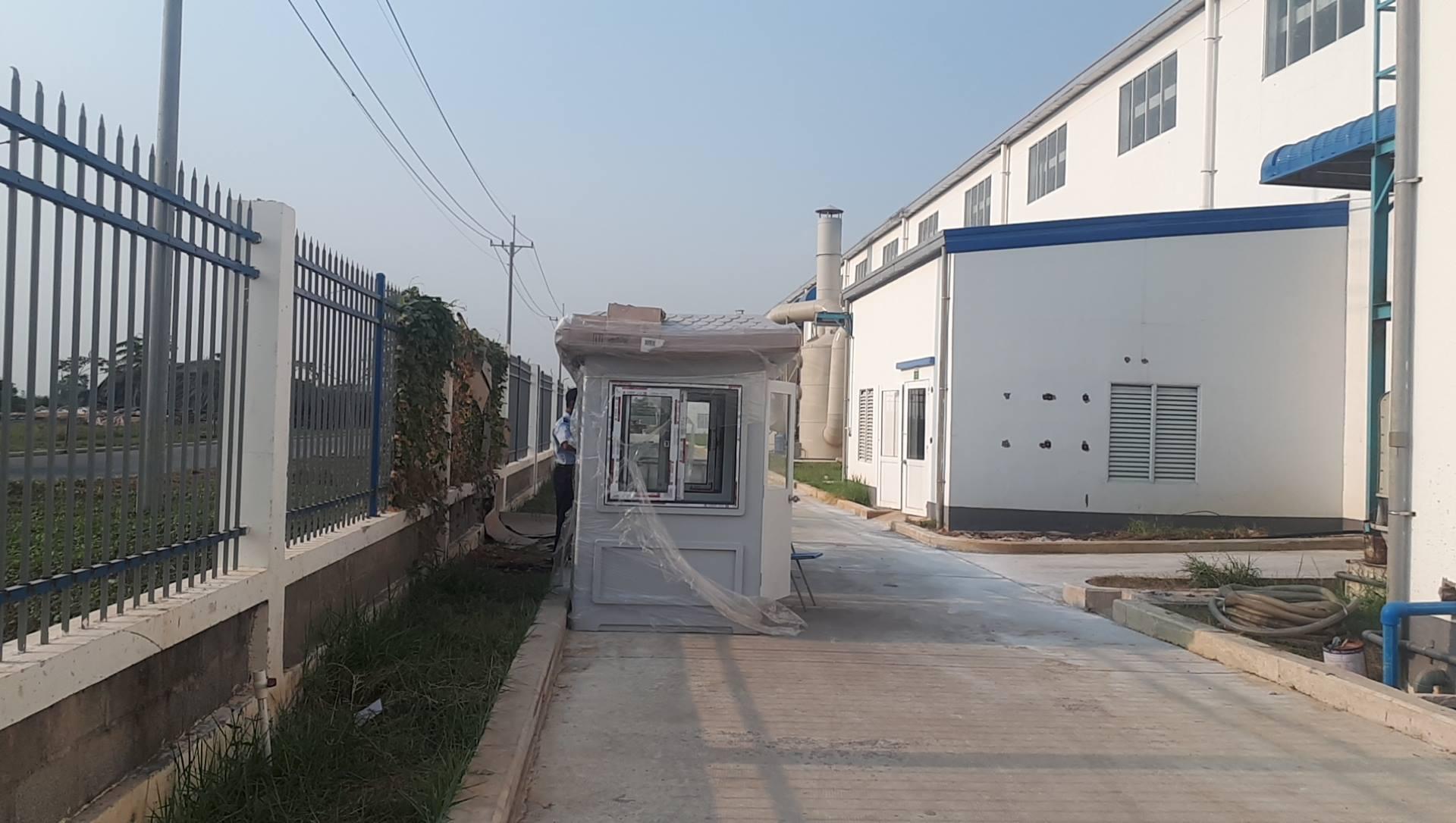 Giao nhà bảo vệ cho KCN tại Tây Ninh