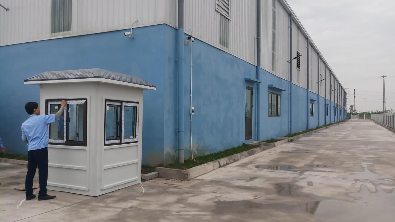 Nhà bảo vệ tại nhà máy trong khu công nghiệp