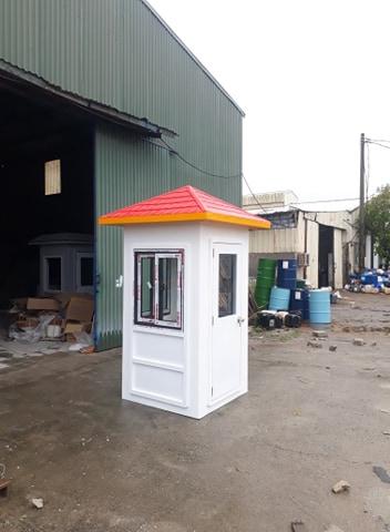 Cabin bảo vệ kích thước nhỏ được pha màu để lắp tại các biệt thự