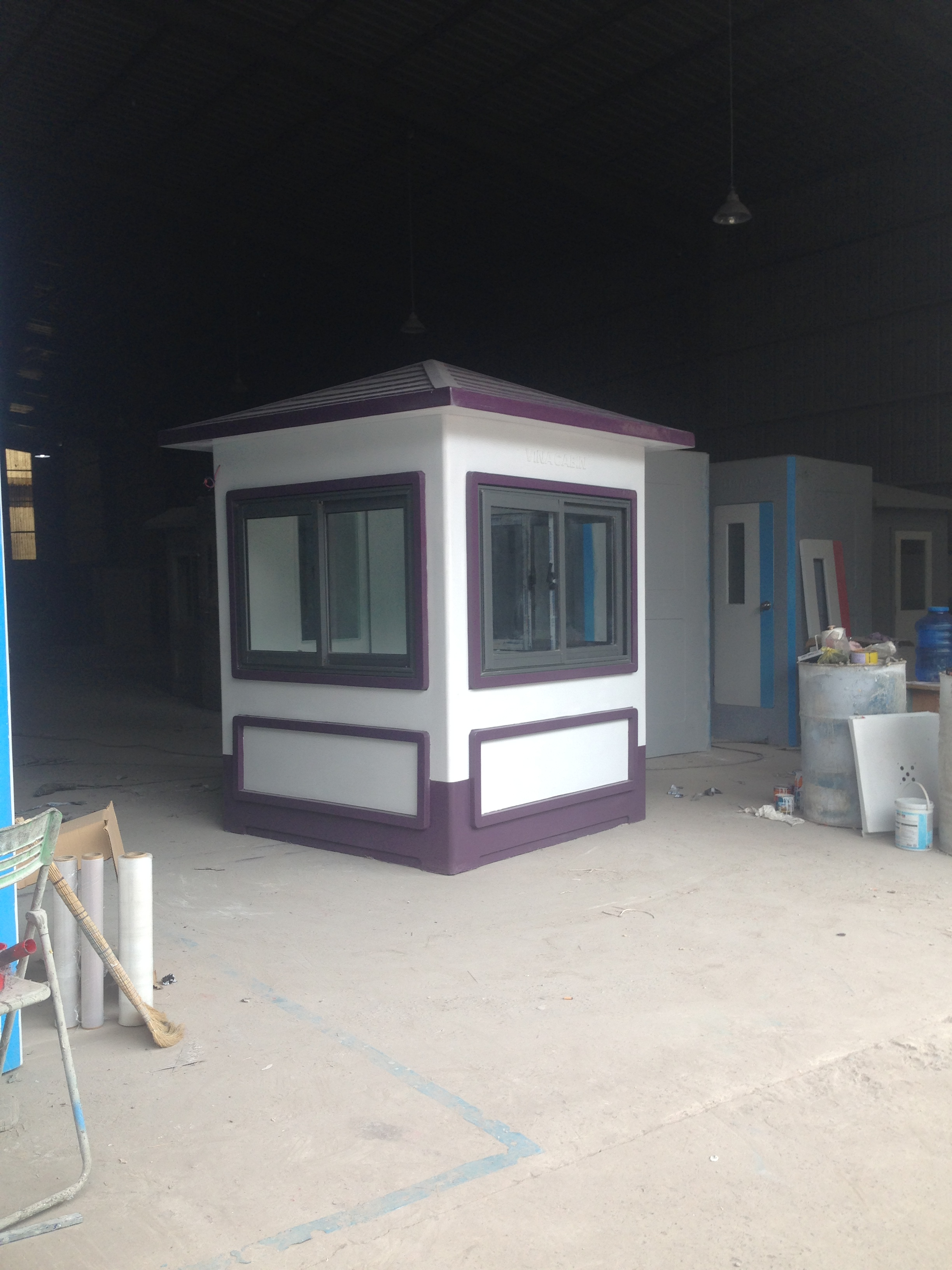 Sản phẩm cabin bảo vệ được giao cho các khu resort