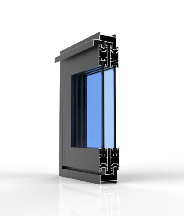 Toàn bộ hệ cửa sổ của nhà bảo vệ Vinacabin sử dụng nhôm Xingfa, Việt Pháp và PMA đều dùng kính cường lực dầy 8mm