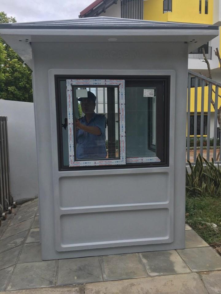 Sản phẩm chốt bảo vệ của Vinacabin đã được trang bị thêm đèn ngoài từ tháng 7/2019