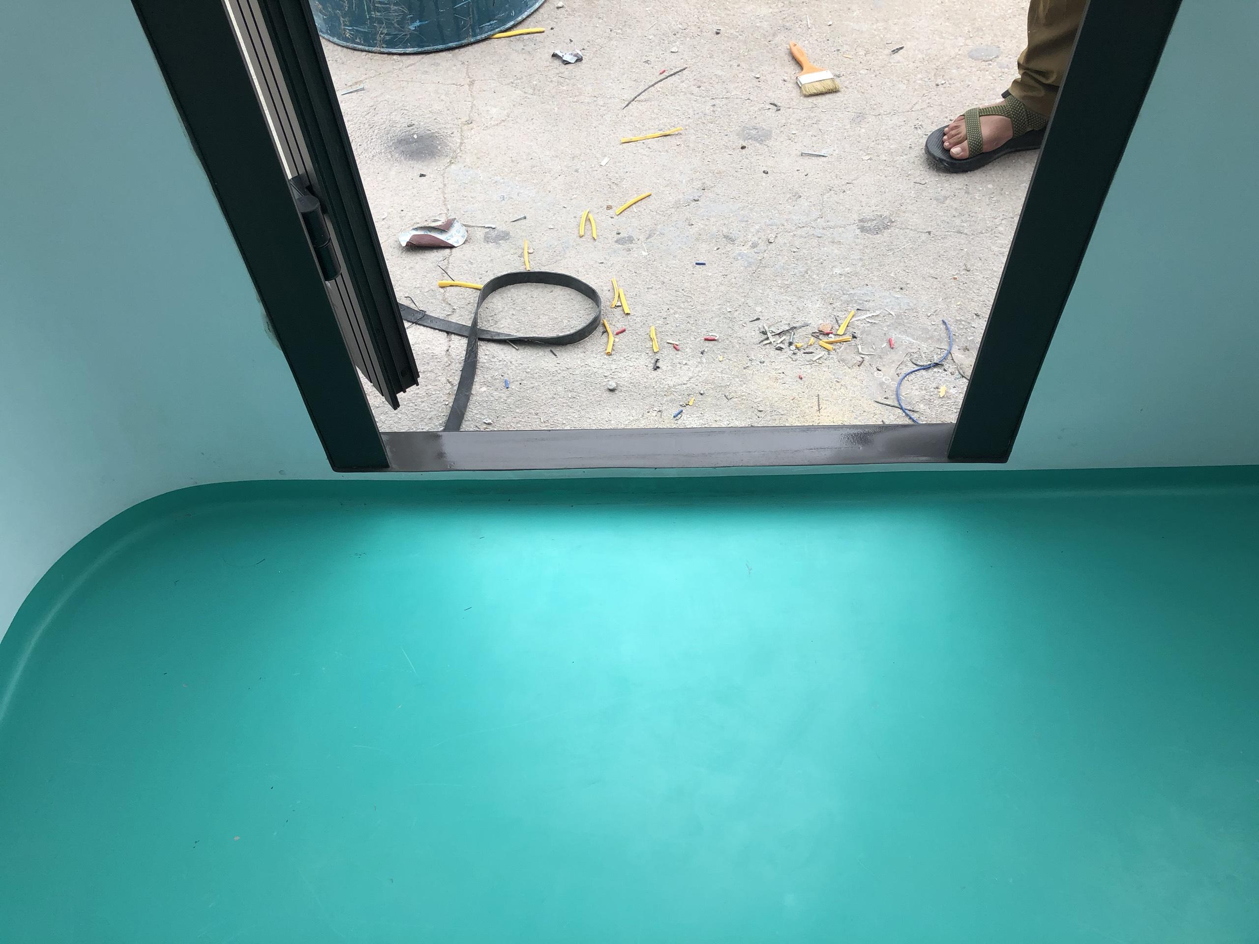 Sàn nhà bảo vệ khung thép