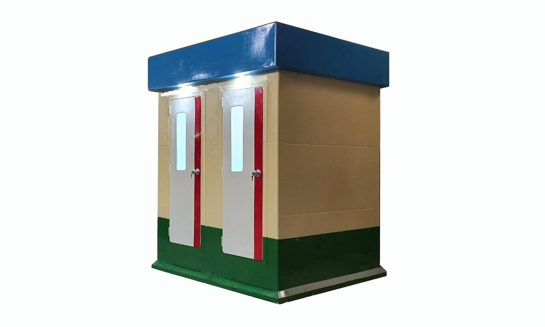 Cabin nhà vệ sinh đôi V18.2