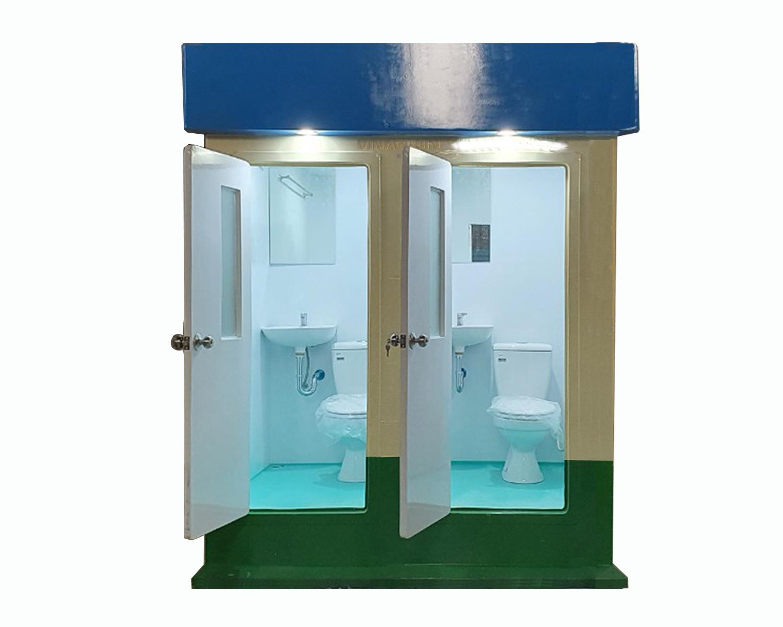 Nhà vệ sinh di động đôi V18.2