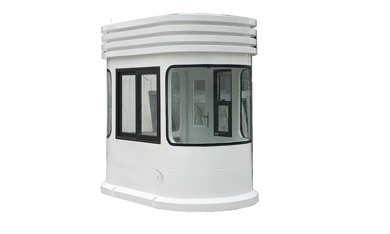 Cabin kính cong hai đầu