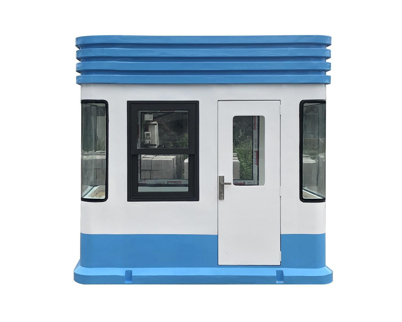 Mặt bên cabin trạm trông giữ xe VC2H1400
