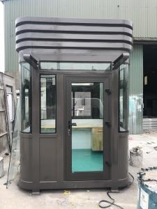 Cabin bảo vệ khung thép, nội thất compsite VS2x2