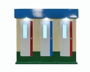 Nhà vệ sinh di động 2 buồng V18.3