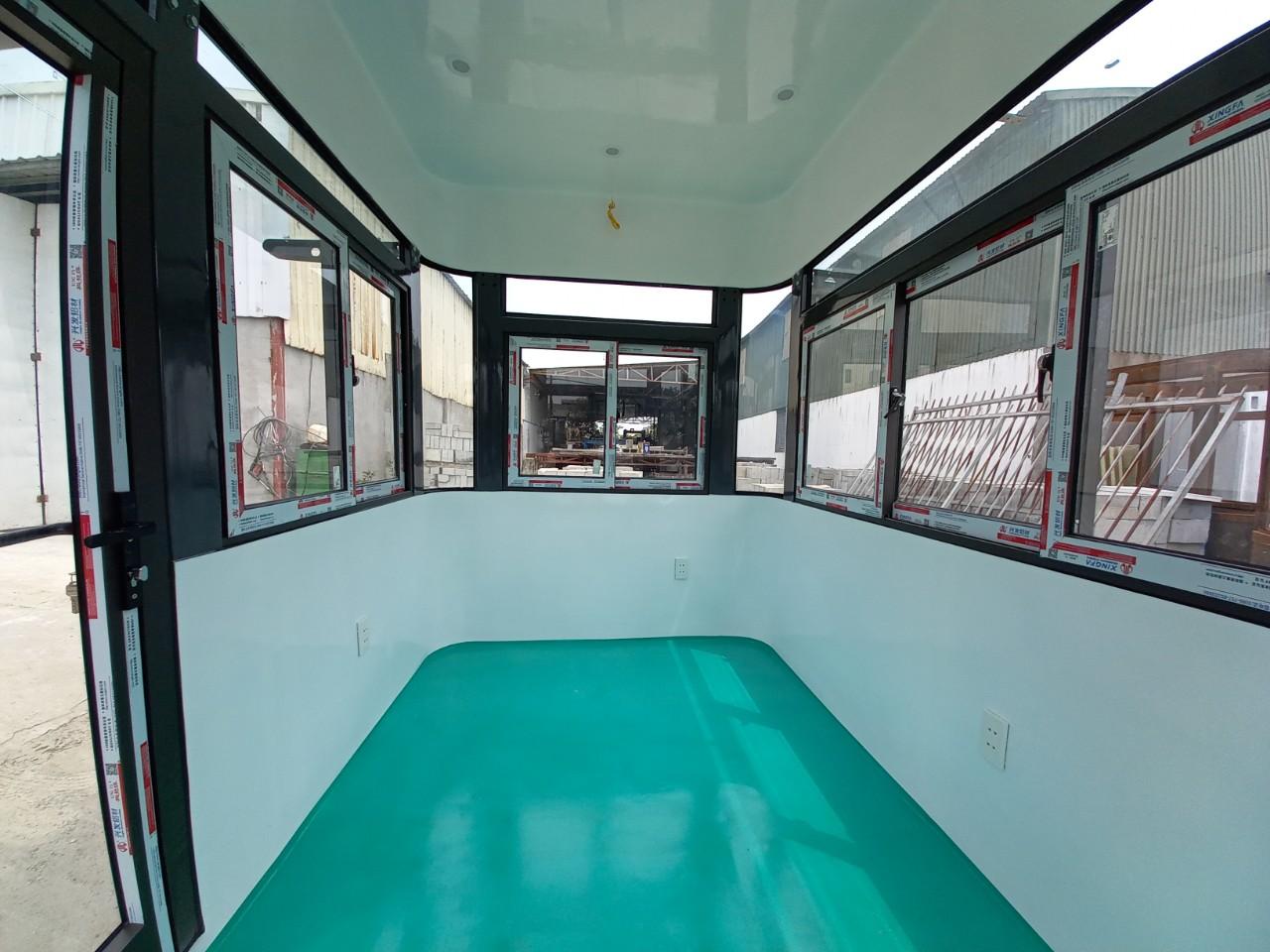 Nội thất cabin bảo vệ VS3.0x2.0